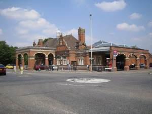 Hertford East railway station
