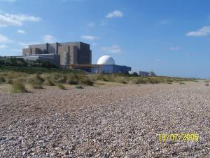 Nuclear power station at Sizewell