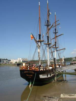 Dunbrody ship, New Ross, Co. Wexford