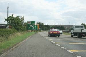 A1 at Gonerby Moor