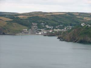 Gorran Haven from Pabyer Point
