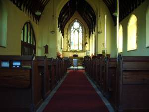 Interior of St John The Baptist Church, Skelsmergh
