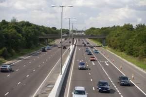 A12 Colchester Bypass at Stanway