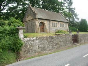 Chapel at Morenish near Killin