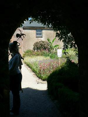The gateway to the Kitchen Garden, Trengwainton Garden