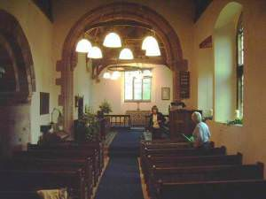Interior of St James Church, Ormside