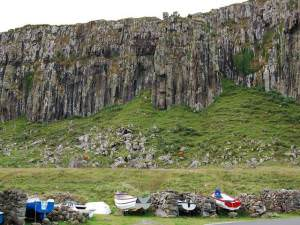 Boats at Staffin