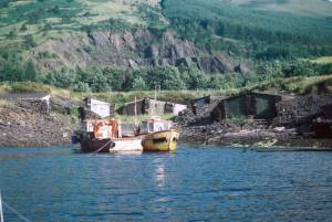 Old slate quarry, Ballachulish
