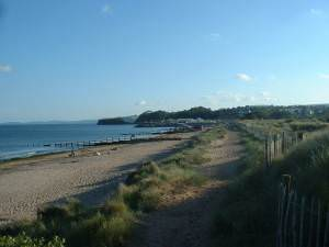 Beach at Dawlish Warren