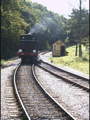 Running Round, Smallbrook Junction. Isle of Wight Railway