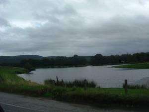 Mill of Strachan pond