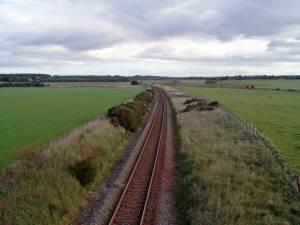 Railway line (Aberdeen - Inverness)