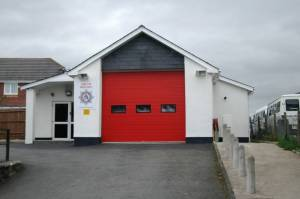 South Molton fire station