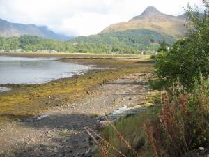 Shoreline of Loch Leven