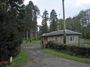 Lodge and entrance to Kilkerran Estate