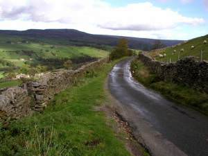 Minor road above Swaledale