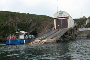 The St Justinian Lifeboat Station