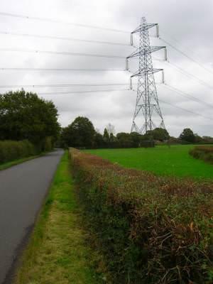 Electricity Pylon, Chiddingly Road