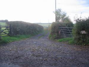 Lane to West Underdown