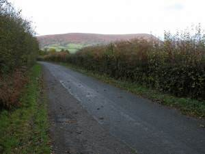The old Hereford to Abergavenny road