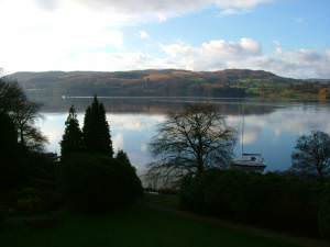 Early evening overlooking Lake Windermere