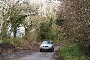 Shute: Roman road