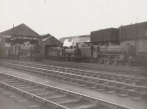 Stranraer locomotive sheds.