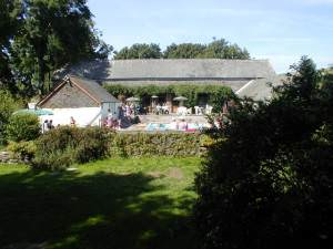 Trefach pool and bar area