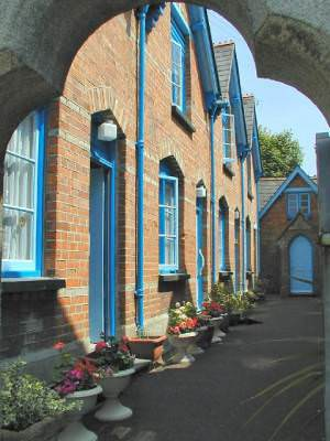 Victorian Almshouses. Padstow