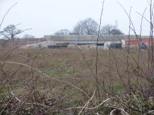 Construction of new road bridge on A515