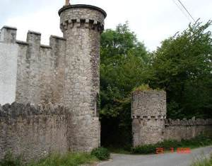 Gatehouse at Gwrych Castle