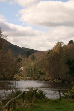 River Dee from the Motor Museum in Llangollen