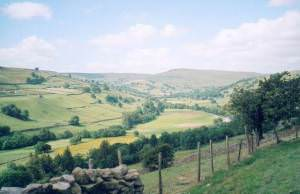 Swaledale near Kearton