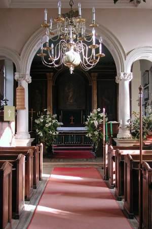 All Saints, North Runcton, Norfolk - East end