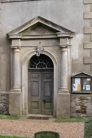 All Saints, North Runcton, Norfolk - Doorway