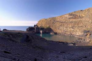 The Blue Lagoon, Abereiddy