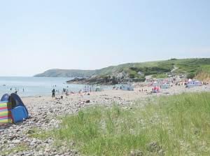 Kennack Sands in Summer