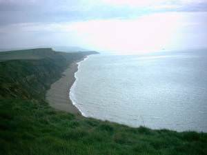 Isle of Wight Coastal Path at Brighstone Bay