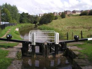 One of the Cheddleton Locks on the Caldon Canal