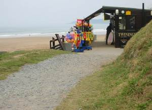 Beach Cafe at Putsborough Sands