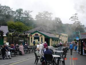 Llanberis mountain railway station