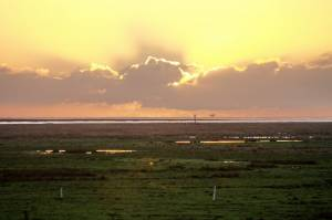 Sunset Over Warton Bank