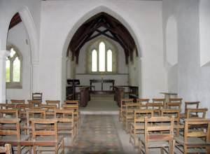 All Saints, Barmer, Norfolk - East end