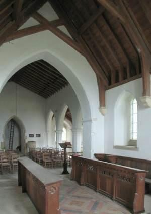 All Saints, Barmer, Norfolk - West end