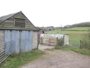 Farm buildings near Lower Tre-fal-du