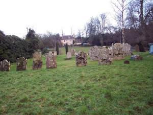 Graveyard at Berwick St James