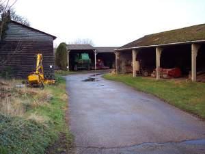 Farm Buildings in Berwick St James