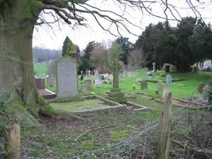 Petham graveyard