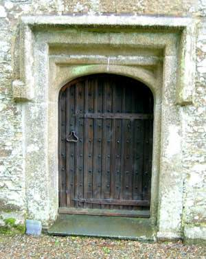 Morval Church Door