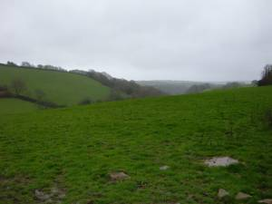 Tributary Down Valley